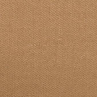 ウール&ポリウレタン×無地(チャイ)×サージストレッチ サムネイル1