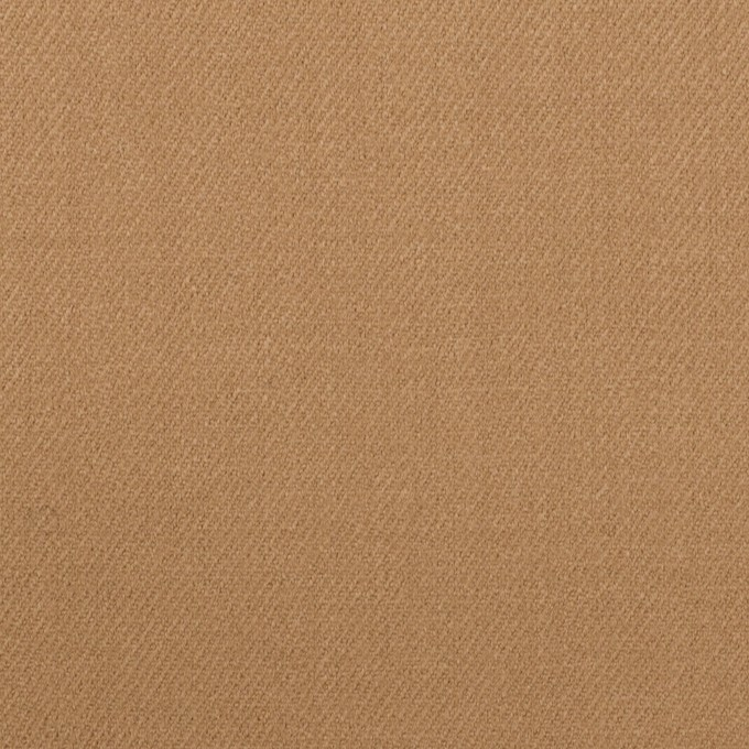 ウール&ポリウレタン×無地(チャイ)×サージストレッチ イメージ1