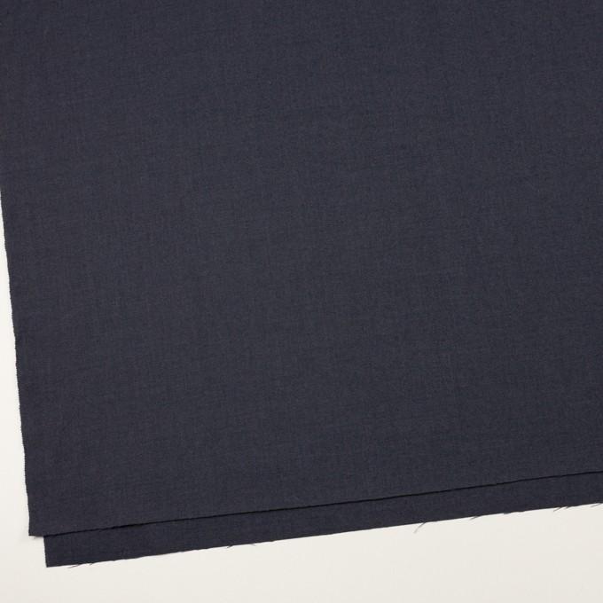 ウール&ポリウレタン×無地(グレープグレー)×サージストレッチ イメージ2