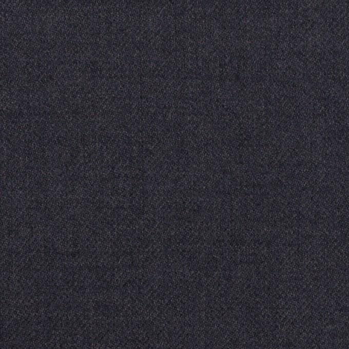 ウール&ポリウレタン×無地(グレープグレー)×サージストレッチ イメージ1
