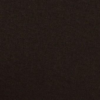 ウール×無地(ダークブラウン)×フラノ(フランネル) サムネイル1