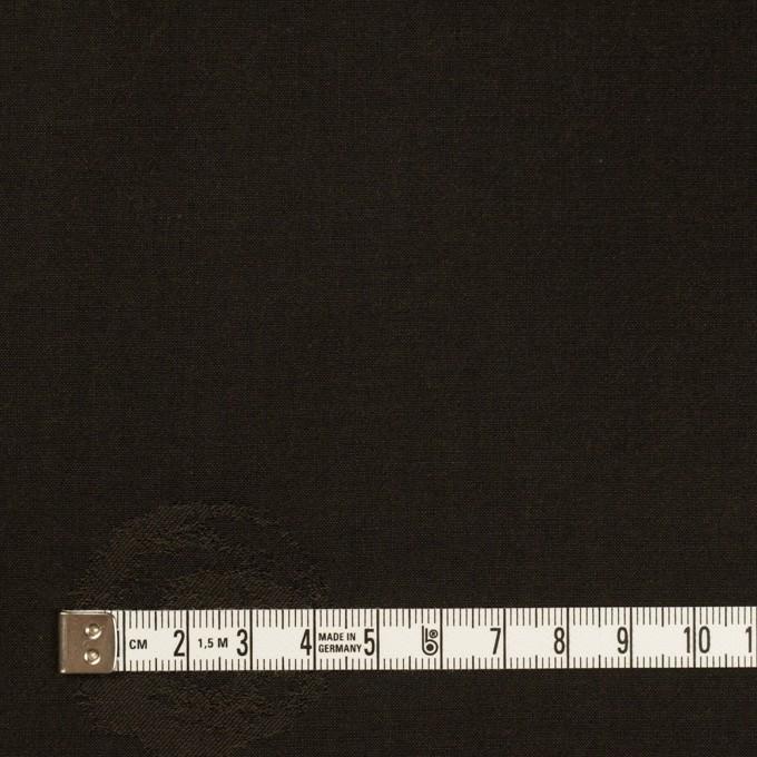 コットン&ポリエステル×幾何学模様(ダークブラウン)×ポプリンジャガード_全2色 イメージ4