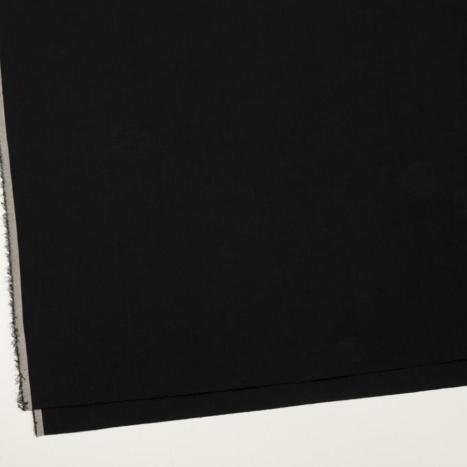 コットン&ポリエステル×幾何学模様(ブラック)×ポプリンジャガード_全2色 イメージ2