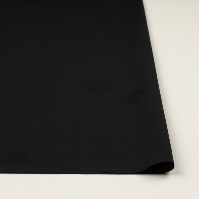コットン&ポリエステル×幾何学模様(ブラック)×ポプリンジャガード_全2色 イメージ3