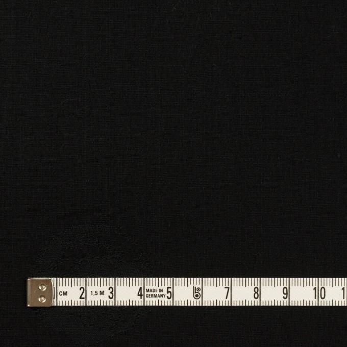 コットン&ポリエステル×幾何学模様(ブラック)×ポプリンジャガード_全2色 イメージ4