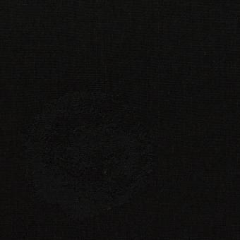 コットン&ポリエステル×幾何学模様(ブラック)×ポプリンジャガード_全2色