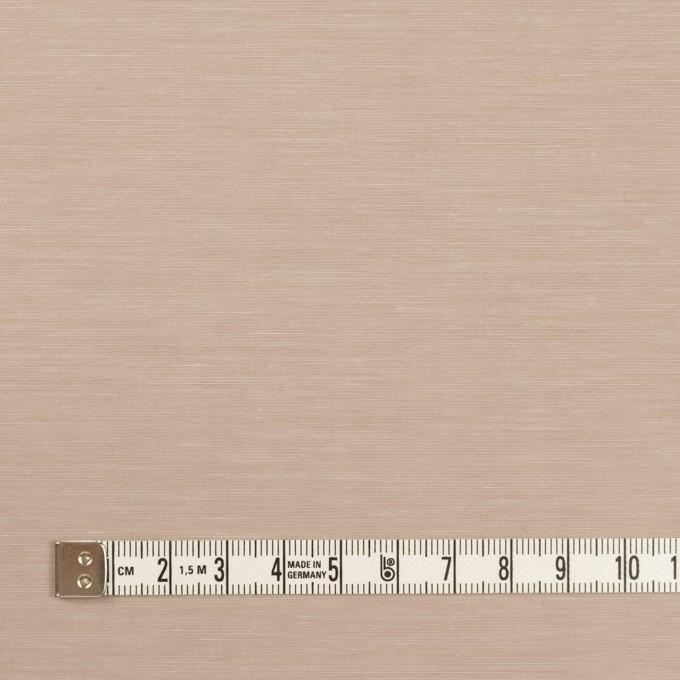 キュプラ&コットン混×無地(スモークベージュ)×スラブローン_全7色 イメージ4
