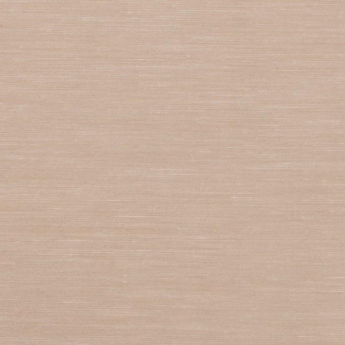 キュプラ&コットン混×無地(スモークベージュ)×スラブローン_全7色 イメージ1