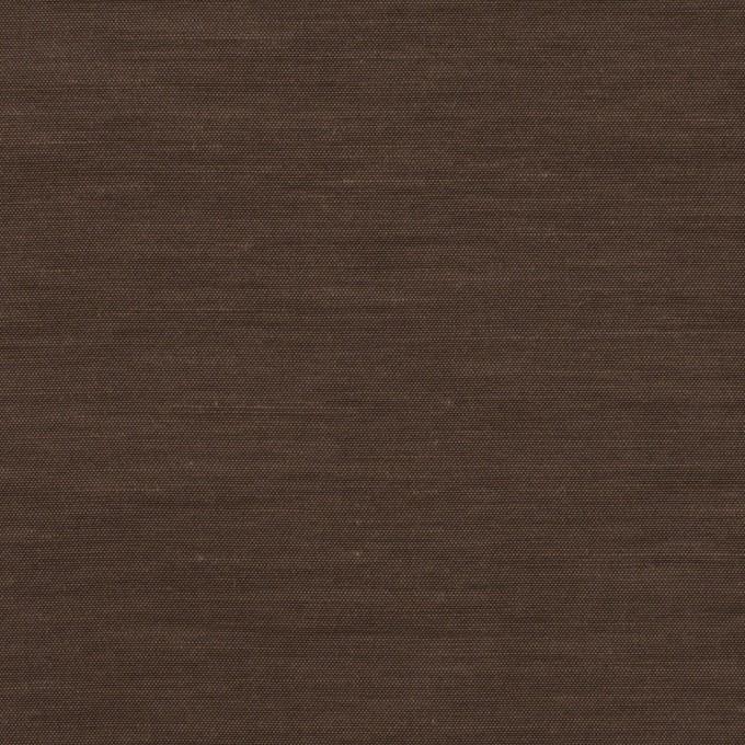 キュプラ&コットン混×無地(ブラウン)×スラブローン_全7色 イメージ1