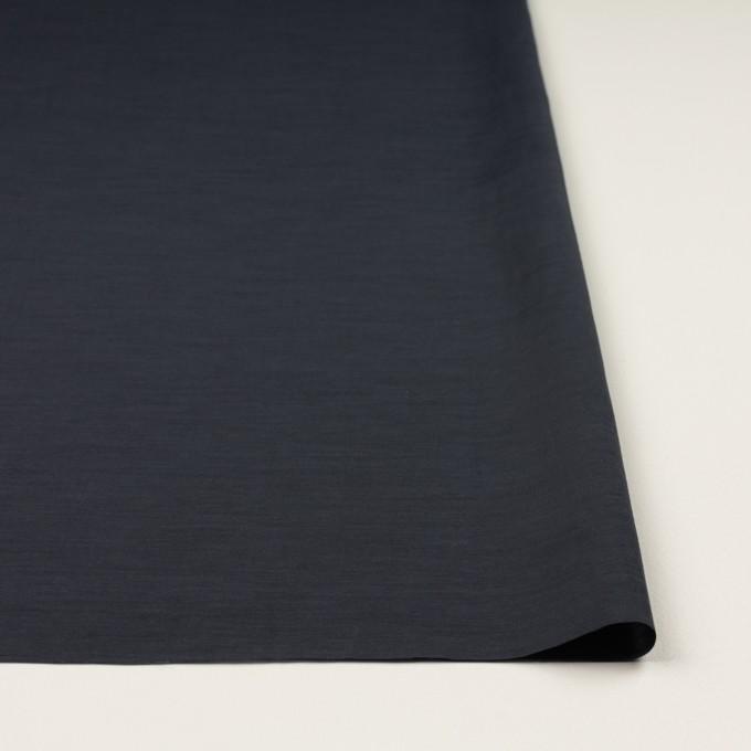 キュプラ&コットン混×無地(ダークネイビー)×スラブローン_全7色 イメージ3