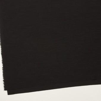 キュプラ&コットン混×無地(ブラック)×スラブローン_全7色 サムネイル2