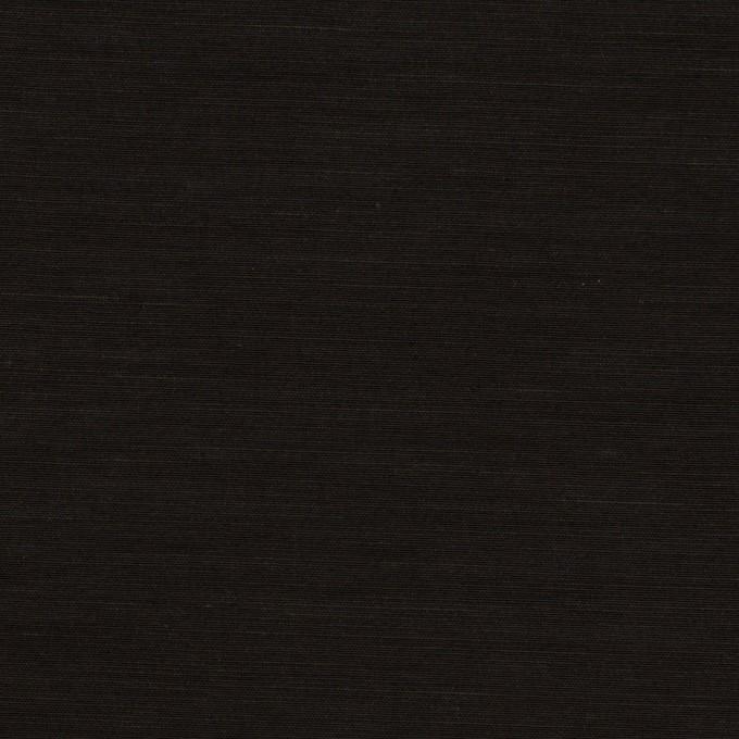 キュプラ&コットン混×無地(ブラック)×スラブローン_全7色 イメージ1