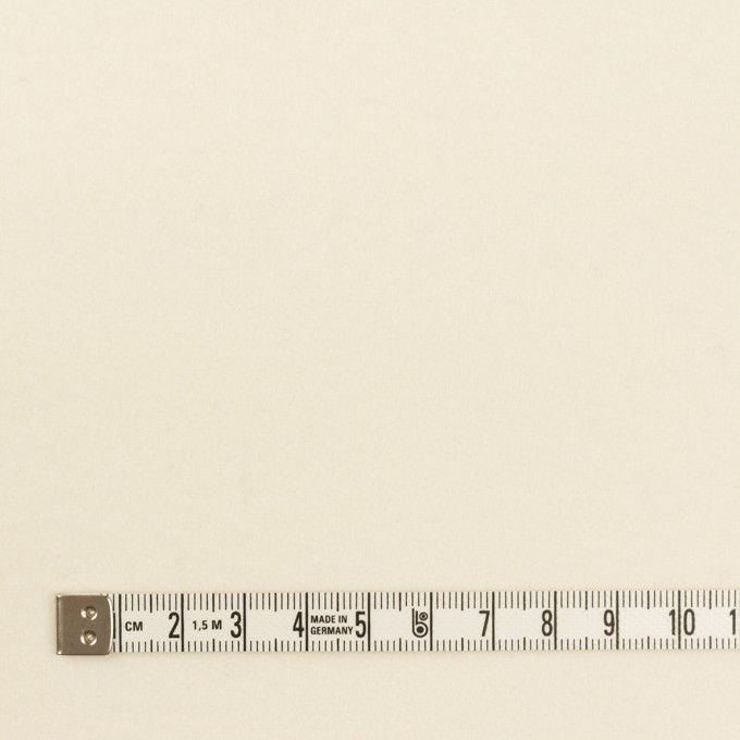 ウール×無地(クリーム)×フラノ(フランネル) イメージ4