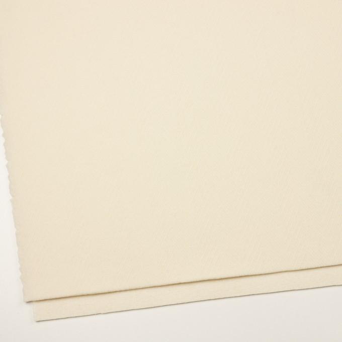 ウール×無地(クリーム)×二重織 イメージ2
