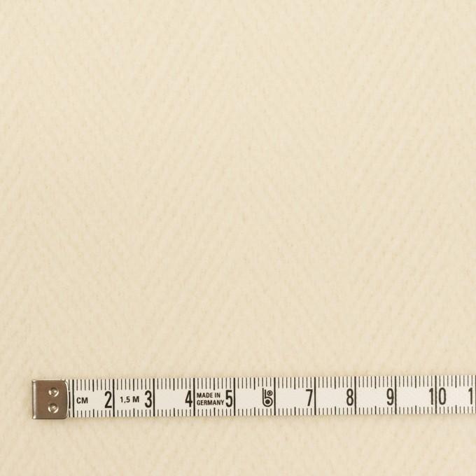 ウール×無地(クリーム)×二重織 イメージ4