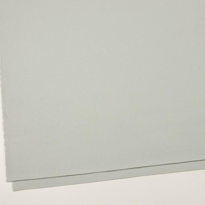 ウール×無地(シャーベットグリーン)×フラノ(フランネル) イメージ2