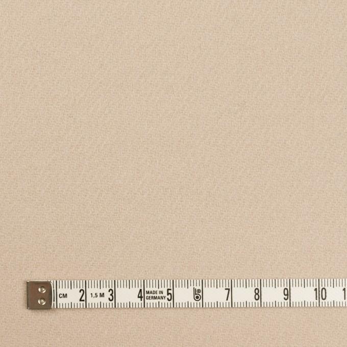 ウール×無地(サンドベージュ)×カルゼ イメージ4