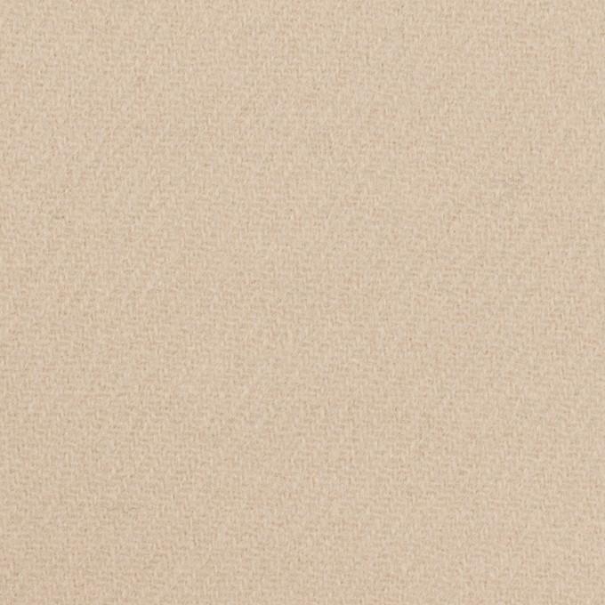 ウール×無地(サンドベージュ)×カルゼ イメージ1