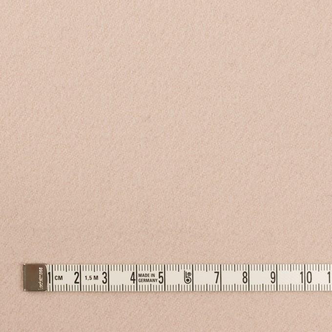 ウール×無地(ピンクベージュ)×カルゼ イメージ4