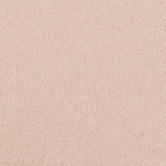 ウール×無地(ピンクベージュ)×カルゼ イメージ1