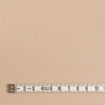 ウール&ナイロン×無地(ベージュ)×ソフトメルトン サムネイル4