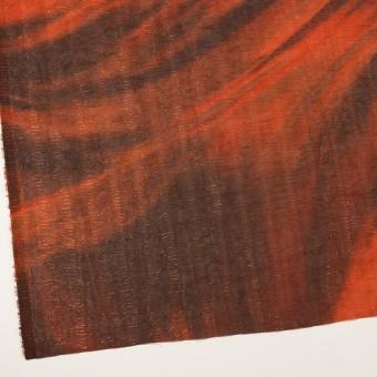 ポリエステル×ペイント(ラスティーオレンジ)×Wシフォン_全2色 サムネイル2