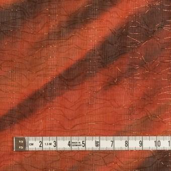 ポリエステル×ペイント(ラスティーオレンジ)×Wシフォン_全2色 サムネイル4