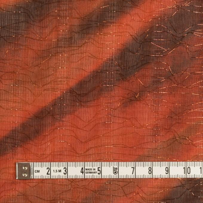 ポリエステル×ペイント(ラスティーオレンジ)×Wシフォン_全2色 イメージ4