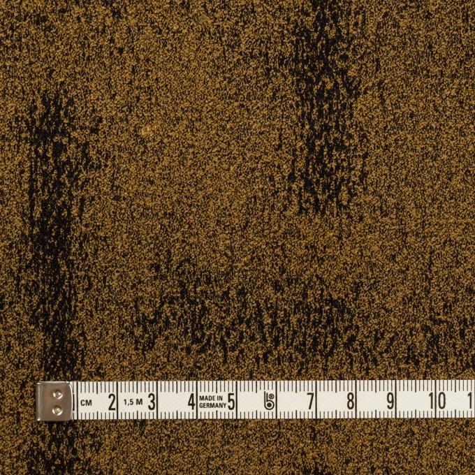 シルク&ナイロン混×幾何学模様(モカブラウン&ダークネイビー)×ジャガード・ストレッチ イメージ4