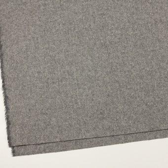 ウール&アンゴラ×ミックス(グレー)×ヘリンボーン_全2色 サムネイル2