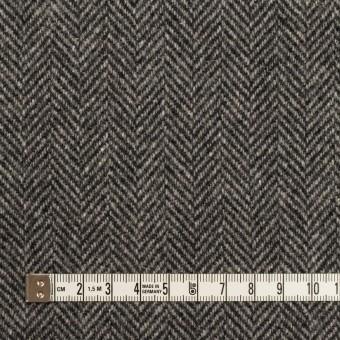 ウール&アンゴラ×ミックス(チャコールグレー)×ヘリンボーン_全2色 サムネイル4