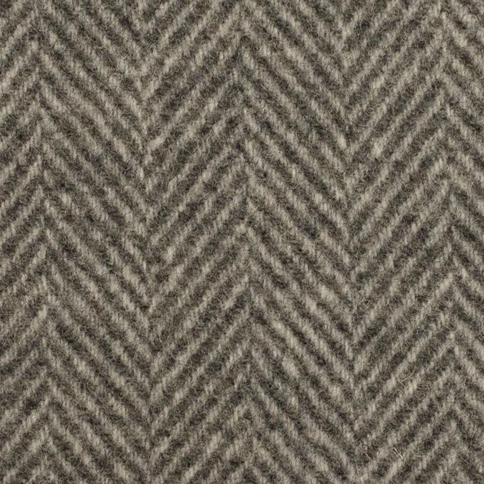 ウール×ミックス(グレー)×ヘリンボーン イメージ1