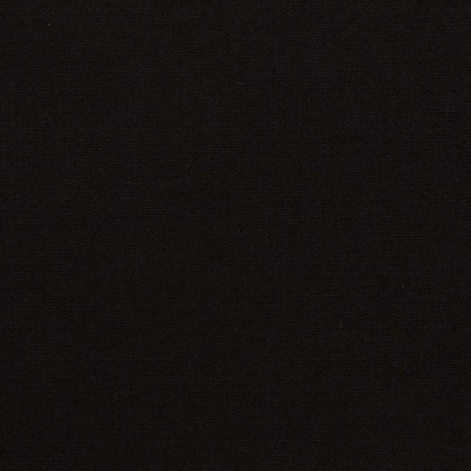 コットン×無地(ブラック)×ブロード イメージ1
