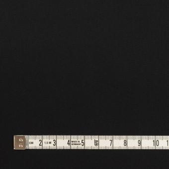 コットン&リヨセル混×無地(ブラック)×ローンストレッチ サムネイル4