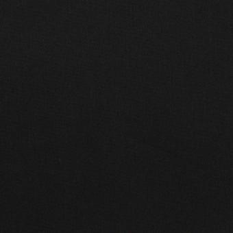 コットン&リヨセル混×無地(ブラック)×ローンストレッチ
