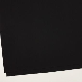 コットン&ポリエステル×無地(ブラック)×ローン サムネイル2