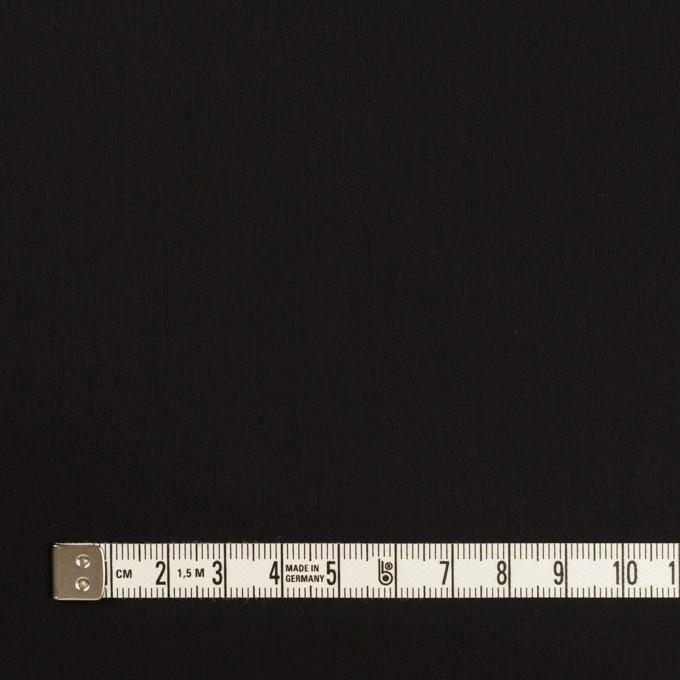 コットン&ポリエステル×無地(ブラック)×ローン イメージ4