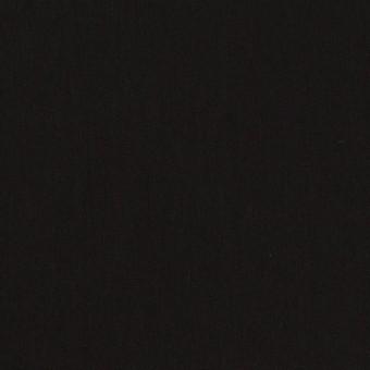 コットン&ポリエステル×無地(ブラック)×ローン