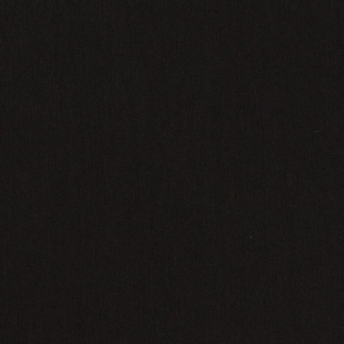 コットン&ポリエステル×無地(ブラック)×ローン イメージ1