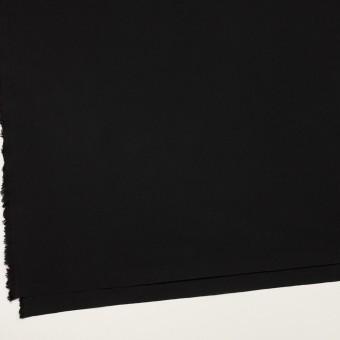 コットン&ナイロン×無地(ブラック)×高密ポプリン サムネイル2