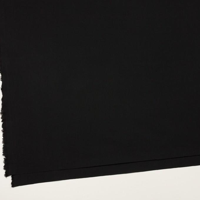 コットン&ナイロン×無地(ブラック)×高密ポプリン イメージ2