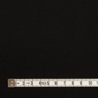 コットン&ナイロン×無地(ブラック)×高密ポプリン サムネイル4