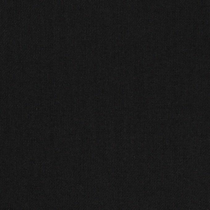 コットン×無地(チャコールブラック)×サージ イメージ1