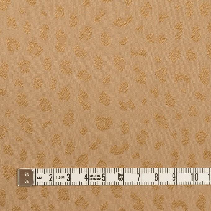 ポリエステル×レオパード(ゴールド)×ジャガード イメージ4