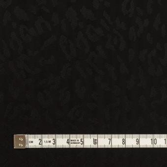 キュプラ×レオパード(ブラック)×ジャガード サムネイル4