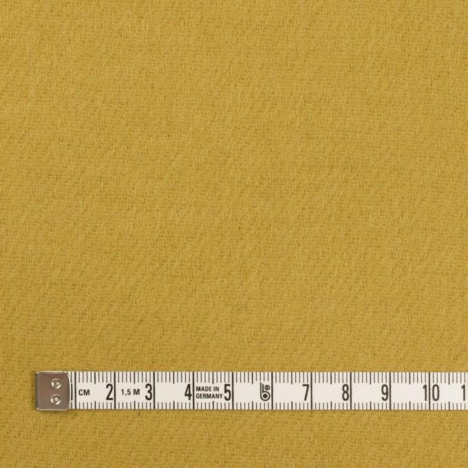 ウール×無地(マスタード)×二重織 イメージ4