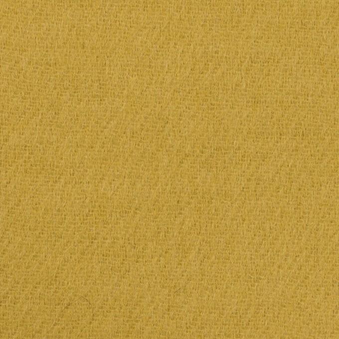 ウール×無地(マスタード)×二重織 イメージ1