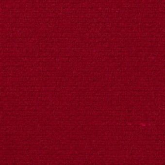 ウール×無地(バーガンディーレッド)×二重織 サムネイル1