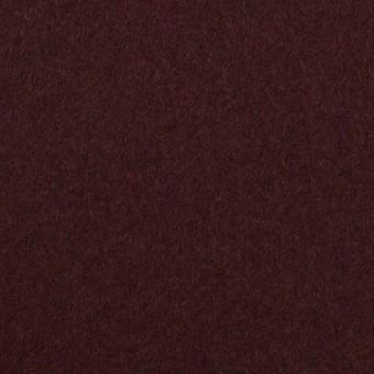 ウール×無地(レーズン)×Wフェイス・フラノ サムネイル1