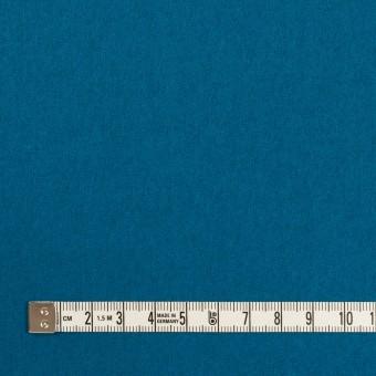 ウール&ナイロン×無地(ターコイズブルー)×フラノ(フランネル) サムネイル4